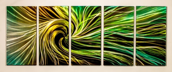 Like this item? & Modern Abstract Painting Metal Wall Art Sculpture Electric