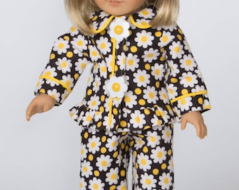 Daisy Maisy Pajamas for 18 Inch Doll