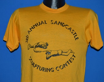 80s Golden Nugget Sandcastle Contest t-shirt Small