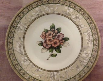 Vintage Johnson Brothers ENCHANTED GARDEN Bread & Butter Plate, England, Wedgewood Group