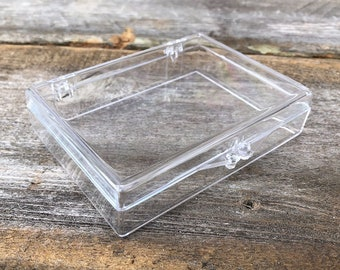 Little Clear Plastic Boxes (Case of 40)  (ZZ-BX100) **CLOSEOUT**