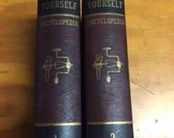 AUDELS -Do-It-Yourself Encyclopedia -2 Volumes