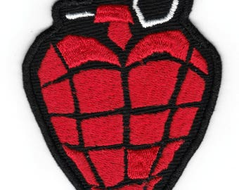 Green Day American Idiot Iron-on Embroidered Patch Billie Joe Armstrong