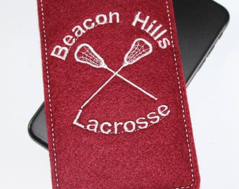Teen Wolf inspired cell phone pouch