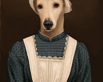 Anna Greyhound Portrait - Downton Abbey - 8x10 Signed Print