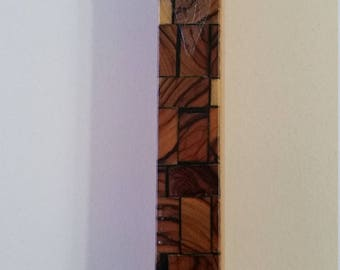 FREE U.S. SHIPPING--Jewish Wooden Mezuzha Case