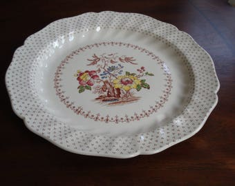 Royal Doulton England GRANTHAM 12 Inch Chop Platter!