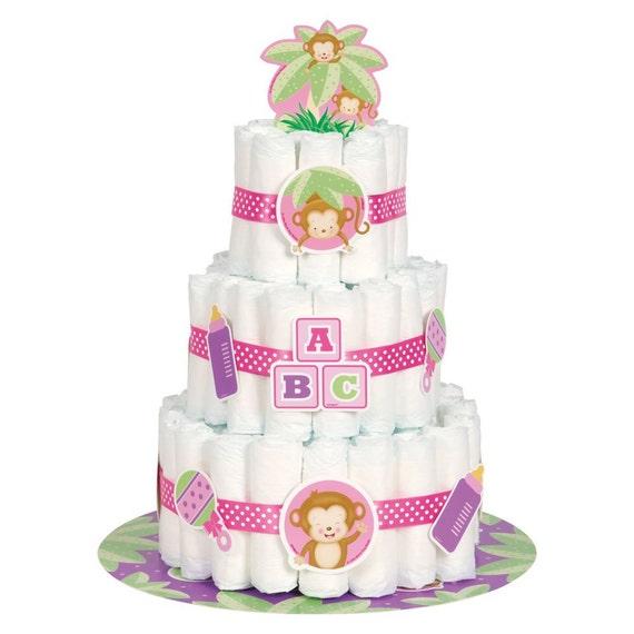 Fisher Price Baby Shower Diaper Cake