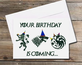Your Birthday is Coming