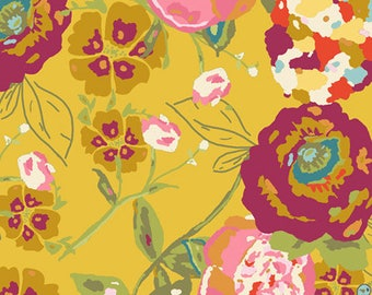 LILLY BELLE, Bari J, Art Gallery Fabrics, Garden Rocket Ruby, LB-2100, Quilt Fabric, Quilting Fabric, Cotton Fabric, Fabric By the Yard
