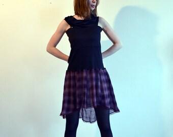 purple dress tunic
