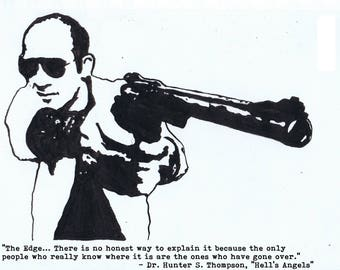 Hunter S. Thompson print