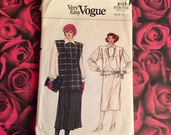 80's Vintage Vogue Sewing Pattern