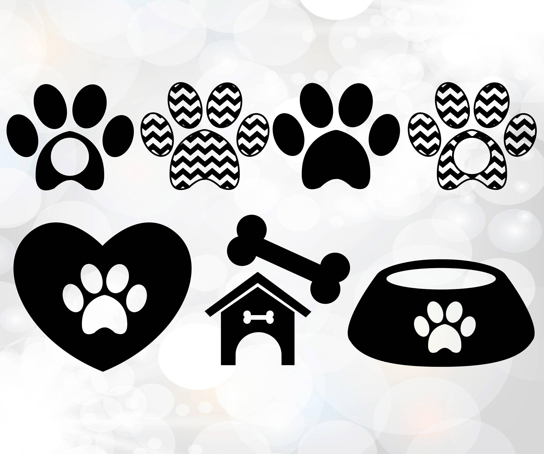 Download Dog Love Collection Dog paw svg file Dog love svg SVG