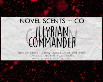 Cassian - ACOTAR inspired soy candle