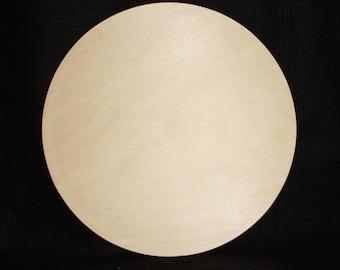 "12"" Wood Craft Circle - High Quality,Solid Wood Circle Cutout,Unfinished Wood Circle,Craft Wood Circle,Wooden Circle Cut Out,Wood Circle"