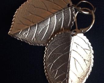 Joan Rivers Leaf Earrings