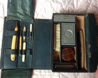 French gentleman's grooming kit