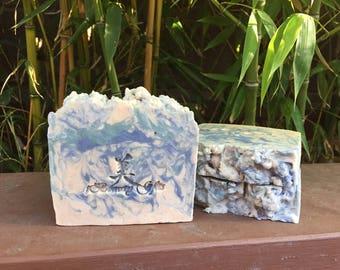 Heaven Dream Handmade Soap   Hot Process Soap   Handcrafted Shea & Cocoa Butter Soap, 5 oz.