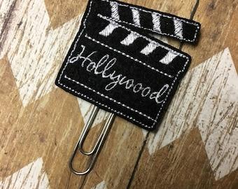 Movie Planner Clip, Bookmark, Page Clip, Paper Clip, Planner Accessories