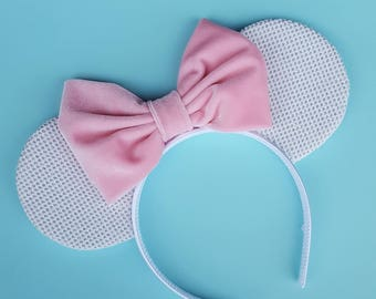 Velvet Glitter Mouse Ears