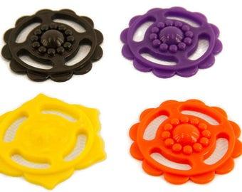 Fun Discs - Bird Toy Parts Craft Part Sugar Glider Craft Part Flower