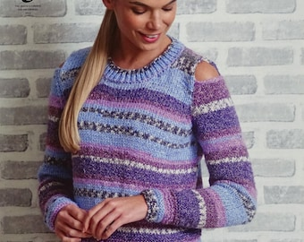 Knitting Jumper Pattern : Fair isle jumper knitting pattern jura tutorial