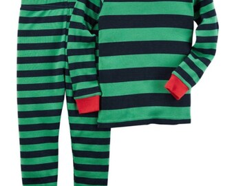 Boys Personalized Christmas pajamas