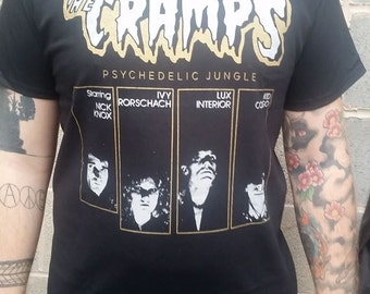 Cramps Psychedelic Jungle t-shirt