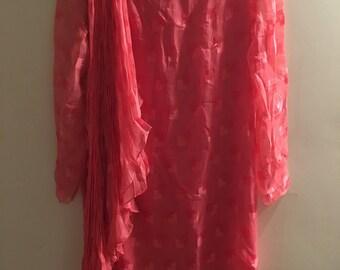 Liz Taylor Silk Pink Dress