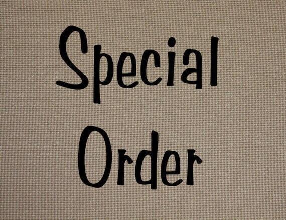 Special Order for Dejan