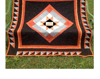 Motorcycle Quilt, Homemade Quilt