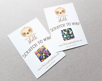 Business Scratch Off Cards, Business Promotion Cards, Reward Cards, Logo Cards,  Business Stationary, Scratch Cards, Business Cards, Custom