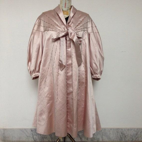 woman coat vintage pink 50s coat 50s pink woman vintage q68wC8E