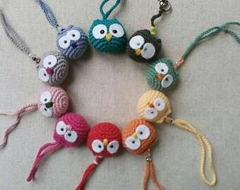 OWL Keychain amigurumi