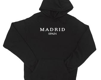 Madrid Spain Hoodie Fast Shipping