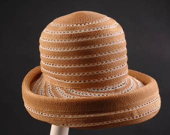 Vintage Dachettes Straw Hat by Lilly Dache