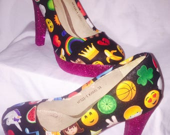 Emoji Heels / shoes* *  * SIZES 3-8