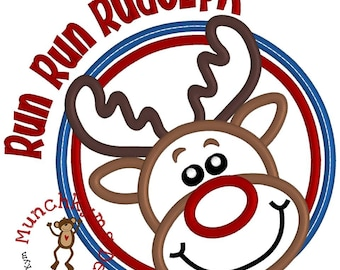 SAMPLE SALE! Run Run Rudolph Christmas Shirt or Bodysuit