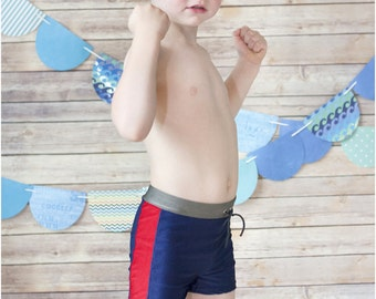 Monaco Swim Trunks: Boys Swim Trunks, Boys Swim Shorts, Boys Swimwear, Boys Swimsuit