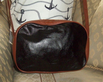 Richards - Real leather small Italian crossbody bag