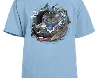 Ocean Diversity youth t-shirt