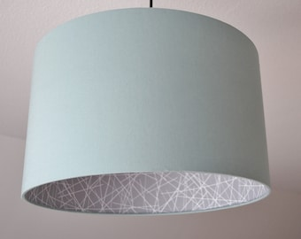 "Lampshade ""Mint-scribble"""