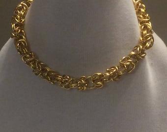 Byzantine neklace HANDMADE WITH LOVE
