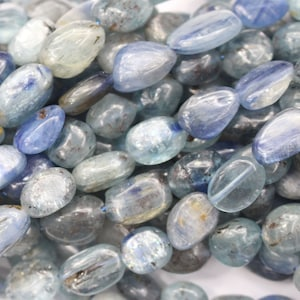 Natural  color kyanite free size nuggets 8-10mm for DIY jewelry making gemstone beads