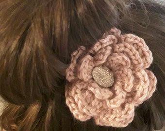 Large Flower Hat/Hair Clip