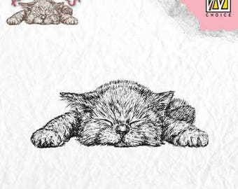 """Kitten"" _ANI009 clear stamp"