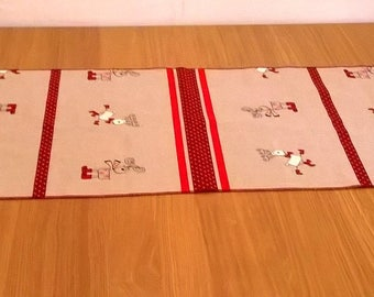 Christmas centerpiece Runner, table runner, table guide