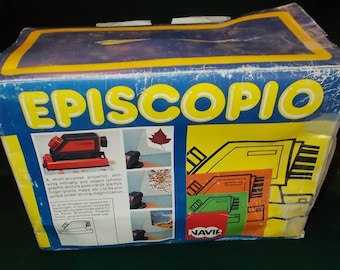 Vintage Episcope Photo Projector Made In Italy Photo Enlarger Complete Working Image Projector Vintage Episcopio Multi Purpose Projector