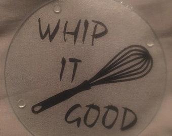 Whip it Good Cutting Board